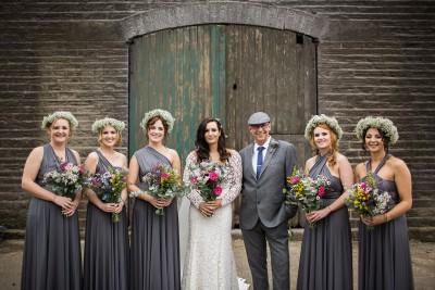 Teepee garden party outdoor wedding photographer yorkshire joe stenson